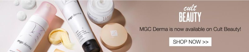 Cult beauty mgc pharma distribution