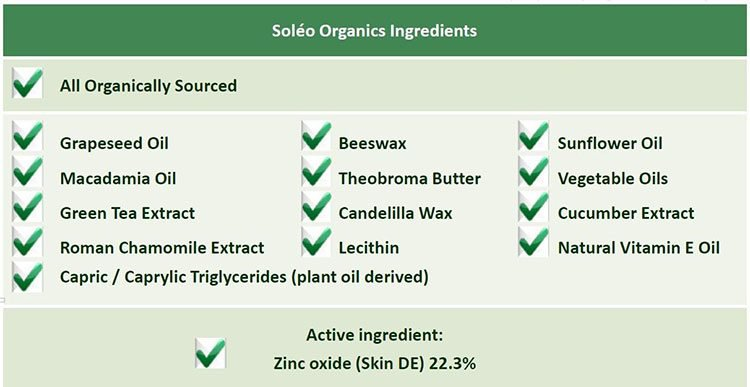skin elements ingredients